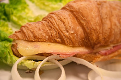 Ham and Cheese Croissant