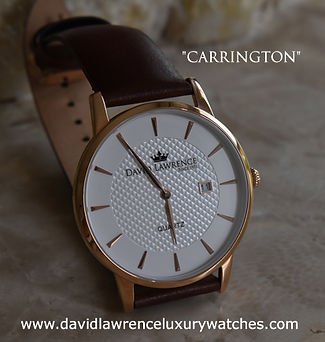 David Lawrence Watches Carry a Ten Years Warranty.