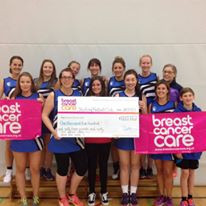 Netball for Breast Cancer Care