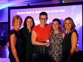 Stirling Netball Club wins BounceBack club of the year