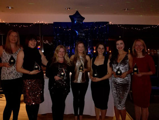 Stirling Netball Club Winterfest Award winners