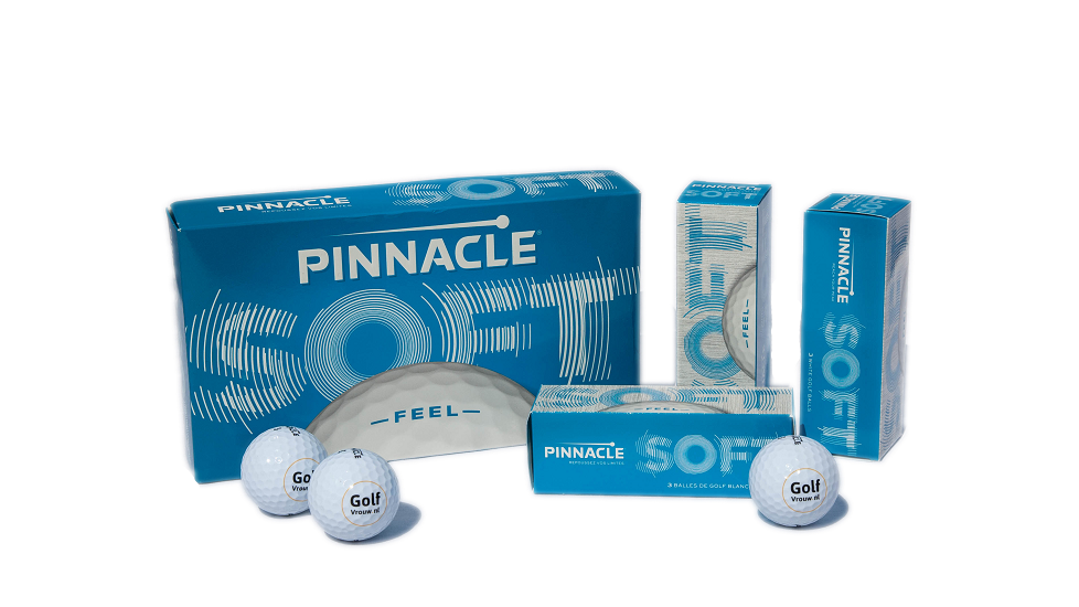 GolfVrouw Pinnacle Golfballen 15-ball pack