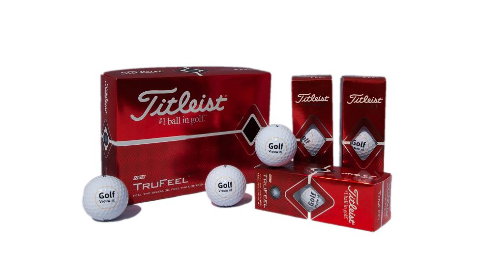 GolfVrouw Titleist Tru Feel Golfballen 12-ball pack