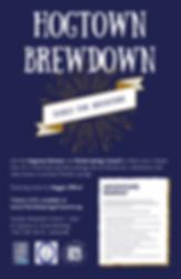 Hogtown Brewdown Poster.png