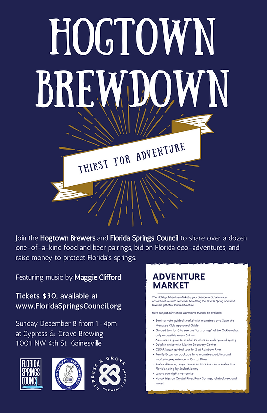 Hogtown Brewdown Poster.png