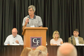 Bob Palmer, legislative chair