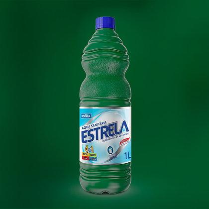 Água Sanitária Estrela 1L