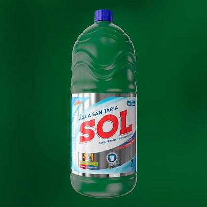 Água Sanitária Sol 2L