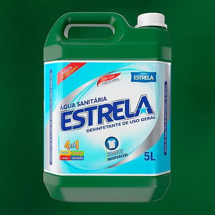 Água Sanitária Estrela 5L
