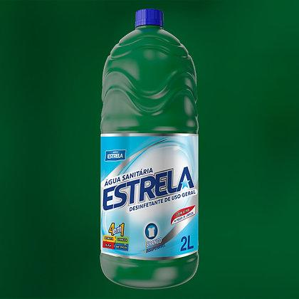 Água Sanitária Estrela 2L