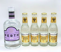Perth Gin 70cl & 4 Fever Tree Tonic 200ml Delivered Free in Perth