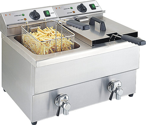 Deep Fryer 8L Double