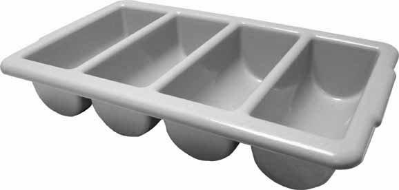 Plastic Cutlery Tray - 4 segments
