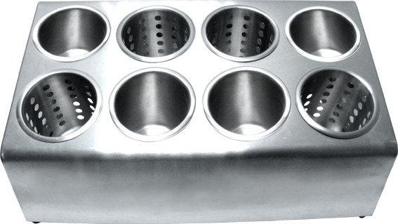 SS Cutlery 8 Cylinders Holder