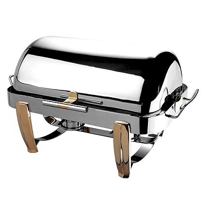 733GH Deluxe Full Size Roll-Top Chafing Dish 9L