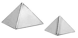 Stainless Steel Pyramid Mould