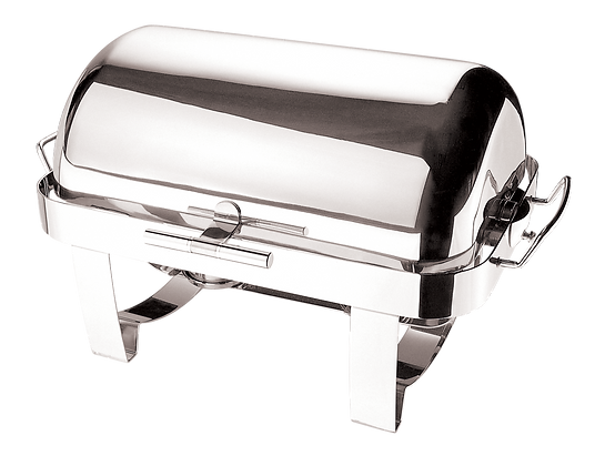 733 Deluxe Full Size Roll-Top Chafing Dish 9L