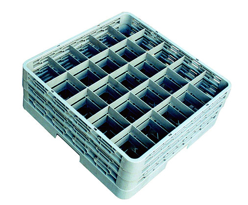 Glass Rack 25 Compartments
