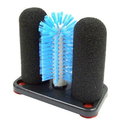 Glass Brush with 2 Sponges 1 brush