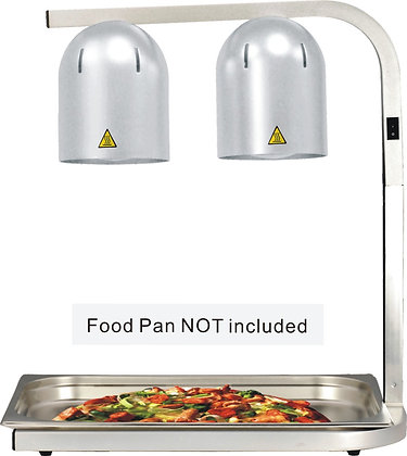 2 Lamp Food Warmer Bridge