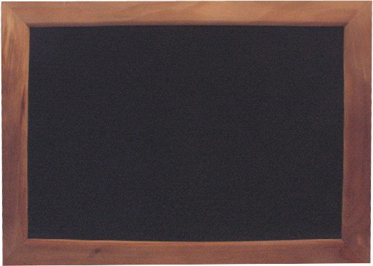 Stained Wood Chalkboard