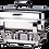 Thumbnail: 933 Full Size Rectangular Chafing Dish 9L