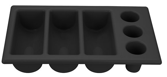 Plastic Cutlery Tray - 6 segments