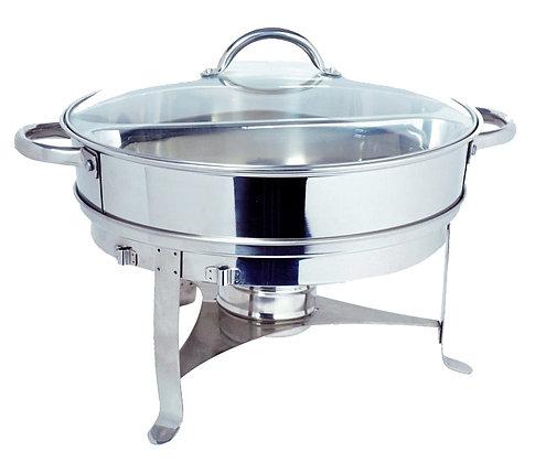 835GL Round Chafing Dish 6QT