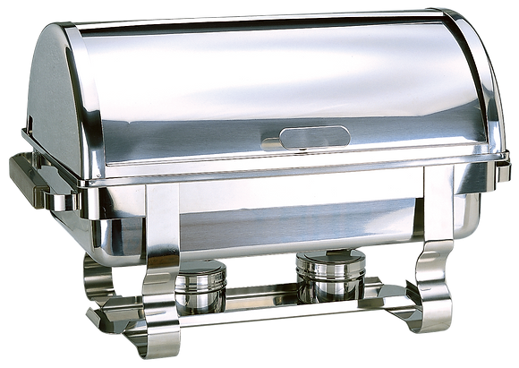 900 Full Size Roll-Top Chafing Dish 9L