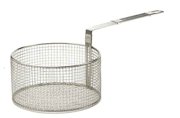 Stainless Steel Round Fryer Basket