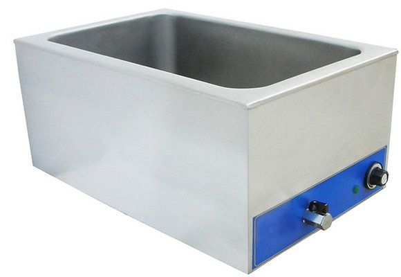 Bain Marie with Faucet Shallow