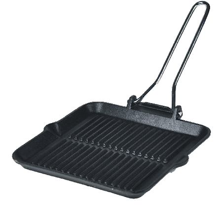 Square Sizzle Platter with Adjustable Handle