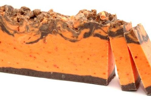 Savon artisanal Cannelle et Orange   (environ 100 grs)
