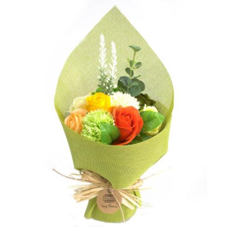 Bouquet de fleurs de savon - Jaune