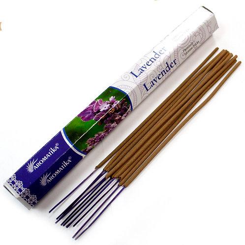 Bâtonnet Encens Premium Aromatika - Lavande
