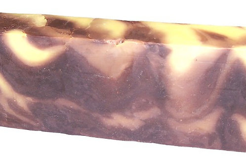 Savonnette artisanale à l'huile d'olive Vanille  (environ 100 grs)