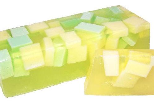 Savon artisanal - Melon (environ 100 grs)
