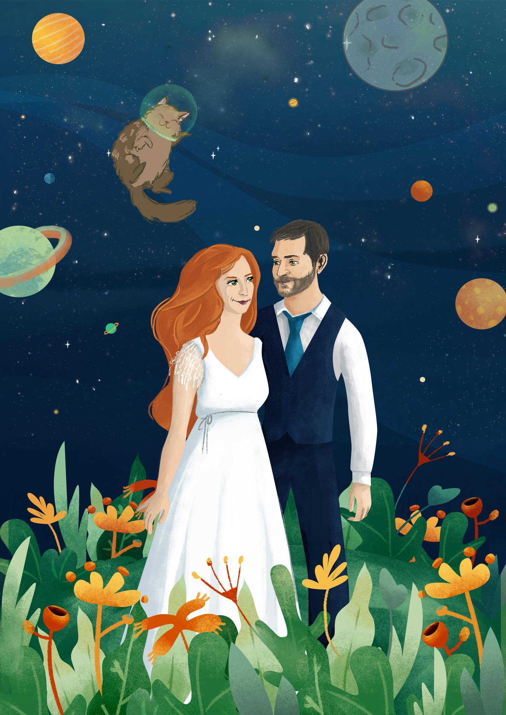 Sapce Wedding