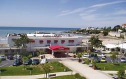 Casino sur la plage de pontaillac