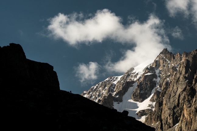 Morning Climb in Ala Archa (Kel Morales)
