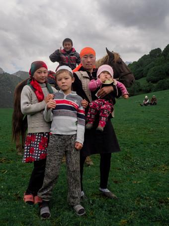 Kyrgyz Ata Family (Kel Morales)
