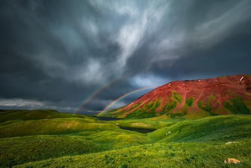 Rainbow After The Rain in Tulpar Kul (Kel Morales)