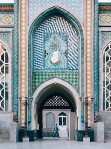 Mosque Stridebys in Dushanbe (Matt Horspool)