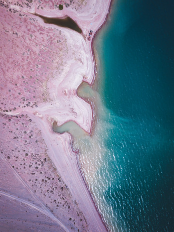 The Orto Tokoy Reservoir sits along an expansive road stretchign between Balychy and Song Kul (Matt Horspool)