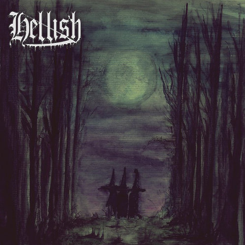 """Hellish - Theurgist's Spell 7""""EP"""
