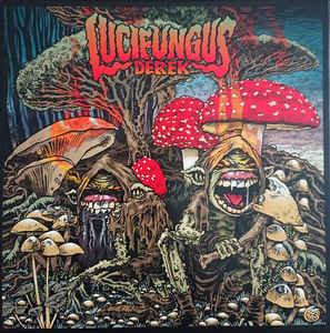 Lucifungus - Derek LP (Clear Red Vinyl) (Organic Edition)