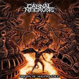 Carnal Necrosis - Origins Of Malevolence CD