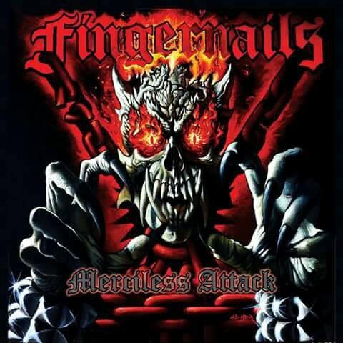 Fingernails - Merciless Attack CD