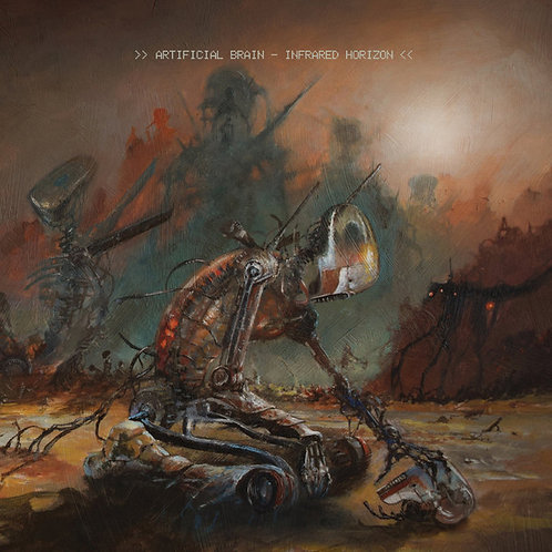 Artificial Brain ‎– Infrared Horizon LP