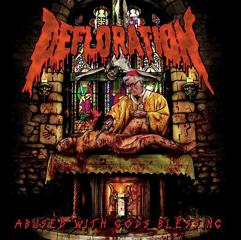 Defloration - Abused with Gods Blessing CD (KS)